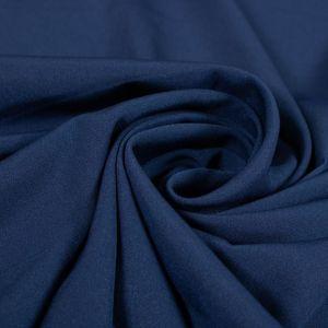 Tecido Crepe Ayá Azul Marinho
