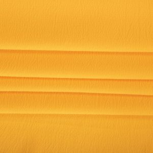Tecido Crepe Bubble Amarelo Cítrico