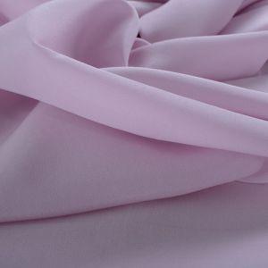 Tecido Crepe de Chine Seda Pura Cor Lavanda Rosada