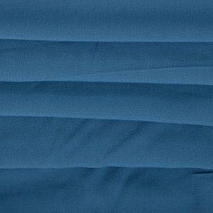 Tecido Crepe de Viscose Azul Denim