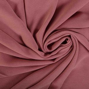 Tecido Crepe de Viscose Estonado Rosa Blush