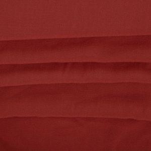 Tecido Crepe de Viscose Vermelho Ferrugem
