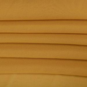 Tecido Crepe Georgete Amarelo Mostarda