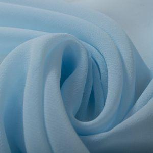 Tecido Crepe Georgete Azul Celeste Claro