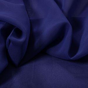 Tecido Crepe Georgete Azul Royal