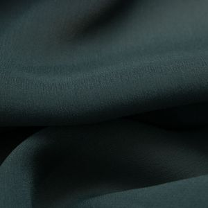 Tecido Crepe Georgete de Seda Pura Verde Bandeira Queimado