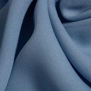 Tecido Crepe Georgete Pesado Azul Serenity