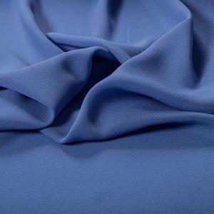 Tecido Crepe Georgete Pesado Azul Serenity Escuro