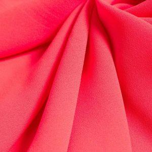 Tecido Crepe Georgete Pesado Pink Neon