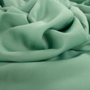 Tecido Crepe Georgete Pesado Verde Garrafa Claro