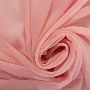 Tecido Crepe Georgete Premium Rosa Quartzo