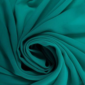Tecido Crepe Georgete Premium Verde Turquesa