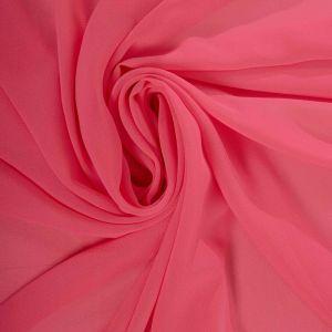 Tecido Crepe Georgete Rosa Chiclete