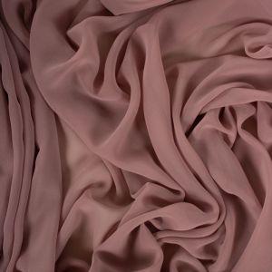 Tecido Crepe Georgete Rosé Queimado