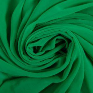 Tecido Crepe Georgete Verde Folha