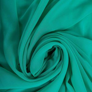 Tecido Crepe Georgete Verde Tiffany