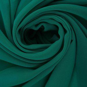 Tecido Crepe Georgete Verde Turquesa Queimado