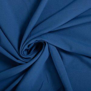 Tecido Crepe Moss Azul Bic