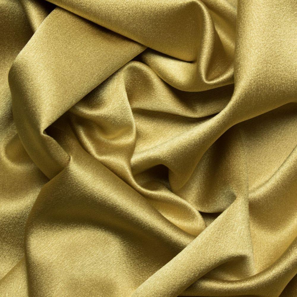 Tecido Crepe Pascaly Span Amarelo Ocre