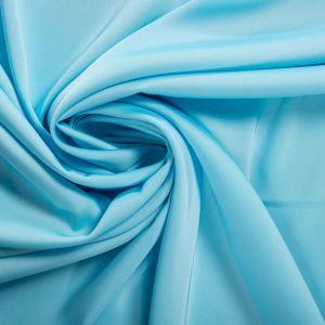 Tecido Crepe Silk Azul Celeste