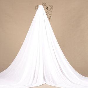 Tecido Crepe Span 3D Floral Branco