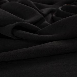 Tecido Crepe Trama de Linho Airflow Preto
