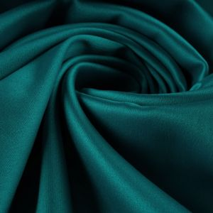 Tecido Crepe Vogue Silk Verde Turquesa Intenso