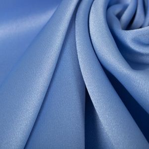 Tecido Crepe Vogue Span Azul Serenity