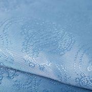 Tecido Failete Jacquard Cashmere Azul Céu