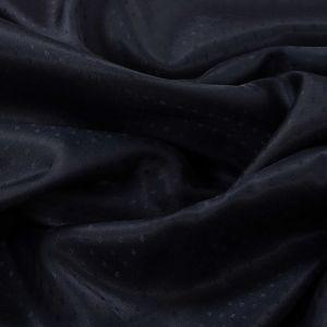 Tecido Failete Jacquard Poá Azul Marinho