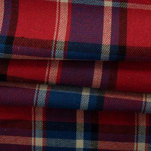 Tecido Flanela Xadrez Vermelho e Azul