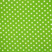 Tecido Fustão Estampa Poá Verde Folha