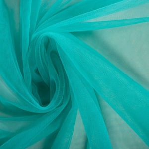 Tecido Ilusion Azul Turquesa