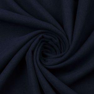 Tecido Lã Batida Azul Noite