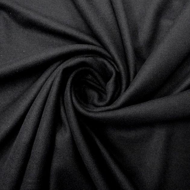 Tecido Lã Batida Preta