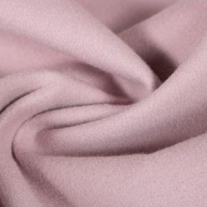 Tecido Lã Batida Rosa Blush Claro