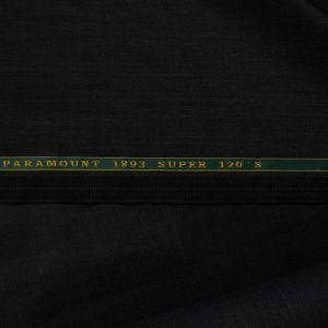 Tecido Lã Fria Super 120 Twill Paramount Preta