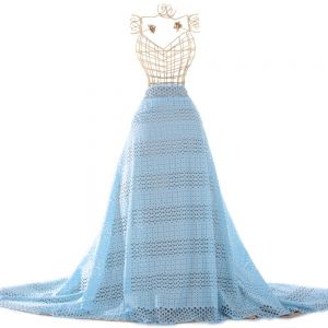 Tecido Laise Azul Celeste