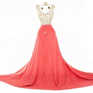 Tecido Laise Barrada Rosa Chiclete
