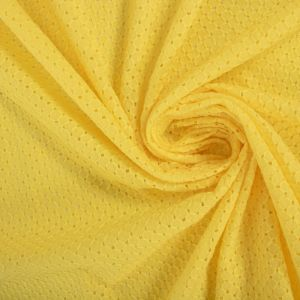 Tecido Laise Mini Xadrez Amarela