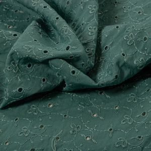 Tecido Laise Verde Garrafa Claro