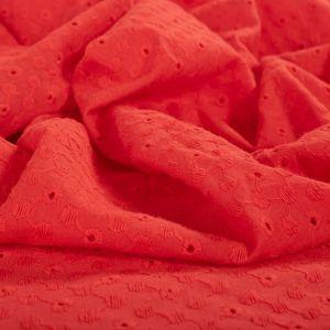 Tecido Laise Vermelha