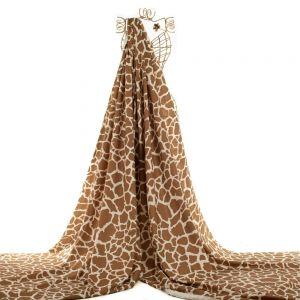 Tecido Linho Estampa Doncella Animal Print Girafa