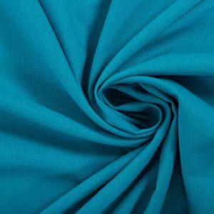 Tecido Linho Misto Azul Aquário