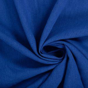 Tecido Linho Misto Azul Bic Claro