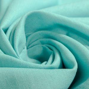 Tecido Linho Misto Azul Celeste Claro