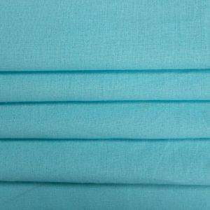 Tecido Linho Misto Azul Tiffany
