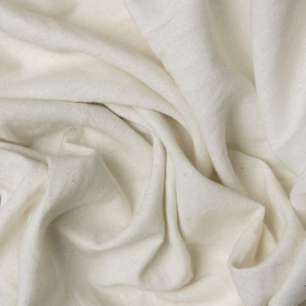 Tecido Linho Misto Off White