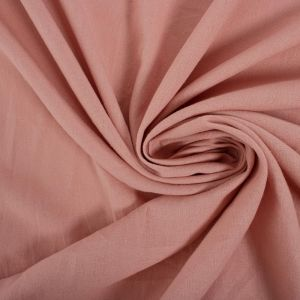 Tecido Linho Misto Rosa Quartzo Queimado