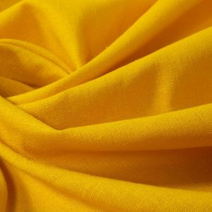 Tecido Linho Misto Span Amarelo Escuro